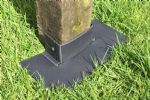 "Post-Tector Fence Post Saver Protector Guard Shields, Fits 3"" or 4"" Posts. X8146"